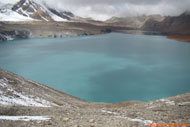 Tilicho lake is situated at the height of 4919 meter in annapurna trekking area.