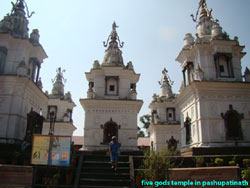 Pancha dewol temples represent the five different images of the lord shiva.