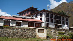 Tengboche Monastery is the most important monastery in Khumjung area.