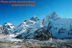 The delightful image of Mount Everest taken from Kalapathar.