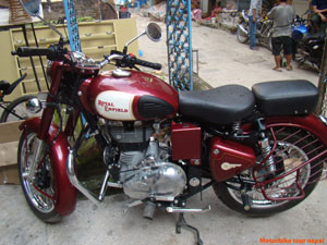best motorbike to ride in Nepal with full adventure