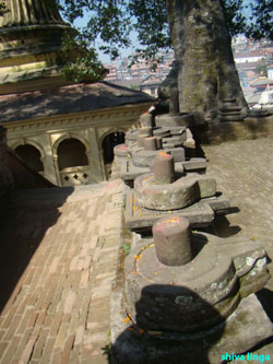 shiva linga is the representation of lord pashupatinath.