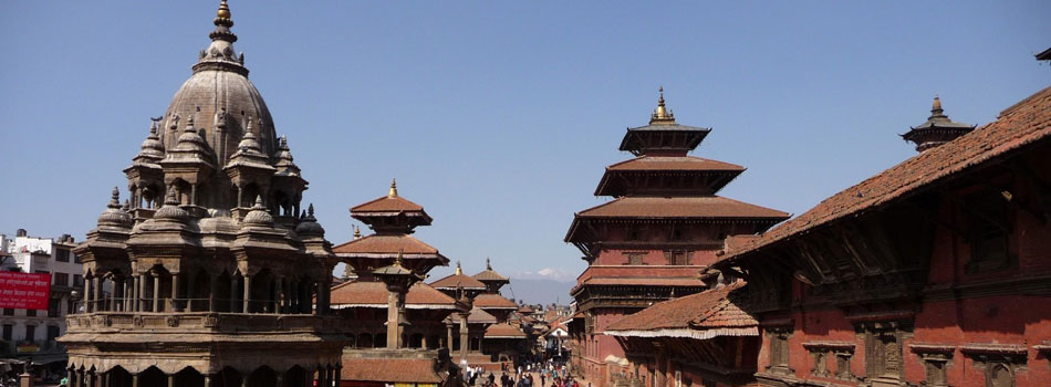 Close view of Patan durbar Square